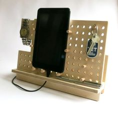 Hey, I found this really awesome Etsy listing at https://www.etsy.com/listing/212961835/gift-for-men-phone-holder-tablet-holder