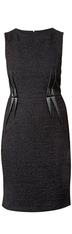 Armani Collezioni ●  Tweed Dress  I've always WANTED a tweed, dress, jacket or something!!! :D