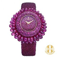 de grisgono baby grappoli rubies quartz S04 ladies watches