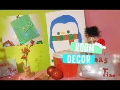 Easy &Cute Holiday Room Decor!•Christmas 2015• - YouTube