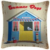 Found it at Wayfair.co.uk - Martin Wiscombe Summer Days Beach Hut Art Print Cushion