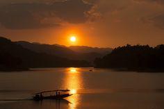 Sunset at Kaeng Krachan National park, Phetchaburi, Thailand - Sunset at Kaeng Krachan National park, Phetchaburi, Thailand