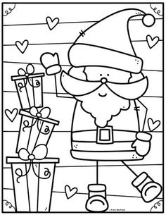 Coloring Club — From the Pond Coloriage de noel à imprimerYou can find Color club and more on our website.Coloring Club — From the Pond Coloriage de noel à imprimer Preschool Christmas, Christmas Crafts For Kids, Christmas Activities, Christmas Colors, Christmas Themes, Summer Christmas, Xmas Crafts, Christmas Christmas, Colouring Pages
