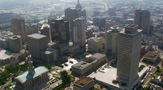 Nashville, Tennessee. A city with music at its heart. Aerial photograph [From Aerial America]