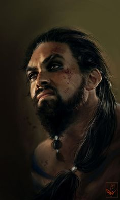 I am in love with this man - Game of Thrones - Khal Drogo :) played by Jason Momoa