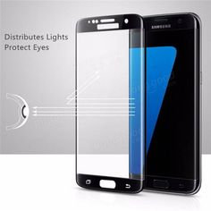 Full Curved 3D HD Tempered Glass Screen Protector For Samsung Galaxy S7 Edge Sale - Banggood.com