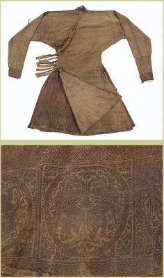 Robe with Braided (Bian Xian) Waist, 13th century, Yuan dynasty (1271–1368), China