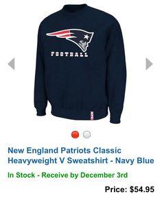 7c5999497 NE Patriots Sweatshirt. Tito Hernandez · New England Patriots