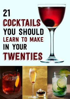 how to make great cocktails