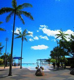 Cairns Esplanade Lagoon. #tbt #queensland #cairns #palmtrees #pool #beach #cairnsesplanadelagoon #cairnsesplanade #esplanade #ocean #greatbarrierreef #gbr #takemeback by segould9 http://ift.tt/1UokkV2