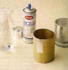 How to make mercury glass!