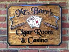 The Carving Company | Full Service Custom Carved Sign Shop | Custom carved casino Sign(BP16)