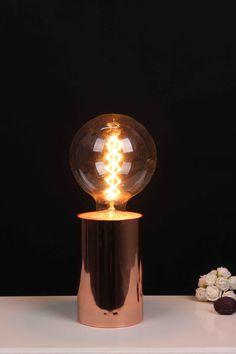 Copper Blush, Light Bulb, Lighting, Home Decor, Decoration Home, Room Decor, Light Globes, Lights, Home Interior Design