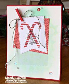 Simon Says Stamp SSS Candy Cane Christmas