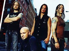 Disturbed - Saw them in Pittsburgh when they toured with Godsmack and STP. They were awesome live!