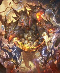 Fantasy Demon, Fantasy Beasts, Fantasy Monster, Dark Fantasy Art, Dark Creatures, Mythical Creatures Art, Weird Creatures, Monster Concept Art, Monster Art