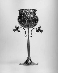 Cup  Artist:Gustav Gaudernack (Norwegian, 1865–1914) Artist: Member of David Andersen Date:1901 Medium:Enamel and silver-gilt Dimensions:H. 8-1/8 in. (20.5 cm) Classification:Metalwork-Enamel