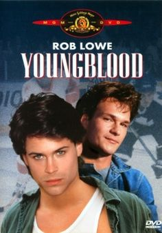 *YOUNG BLOOD ~ Rob Lowe Patrick Swayze To of my faves and the movie stunk, but I watched it anyway because of these men! Teen Movies, Hd Movies, Movies Online, Movies And Tv Shows, Movie Tv, Watch Movies, Movie Theater, Theatre, Dirty Dancing
