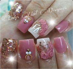 Nails Acrilico Naturales Elegantes 70 Ideas Best Picture For nail trendy acrylic For Your Taste You Fancy Nails, Bling Nails, Trendy Nails, Glitter Nails, Fabulous Nails, Gorgeous Nails, Hight Light, Natural Acrylic Nails, Boxing Day