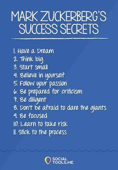Secret to sucess