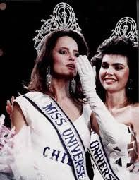 Miss Universe 1987, Chile's own Cecilia Bolocco