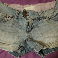 Shorts Blue Jean shorts from Maurices, size 7/8. Good condition! Maurices Shorts Jean Shorts