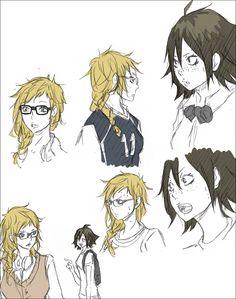 Haikyuu!! - Yamaguchi and Tsukishima - Genderbender