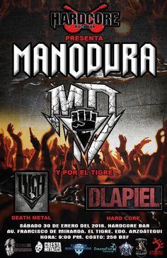 """HardCore Bar presenta: """"MANODURA  –  EP """"Un canto Pa' Mi Pueblo"""" http://crestametalica.com/events/hardcore-bar-presenta-manodura-ep-un-canto-pa-mi-pueblo/ vía @crestametalica"""