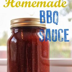 Homemade BBQ Sauce Recipe Condiments and Sauces with dark brown sugar, ketchup, red wine vinegar, worcestershire sauce, ground mustard, paprika, salt, black pepper