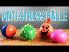 Anti Stress Ball selber machen | 3 Arten Anti Stressball - YouTube Anti Stress Ball, Slime, Cool Stuff, Youtube, Kindergarten, Charlotte, Science, Atelier, Tips And Tricks