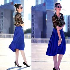DEEP BLUE (by Inna Gutman) http://lookbook.nu/look/3572215-DEEP-BLUE