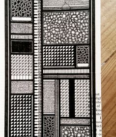 Moleskine 04, #064 by Rebecca Blair #patterns