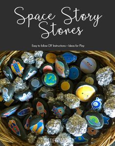 Space Pretend Play - ideas and simple to make ressources for play in the Early Years