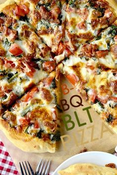 BBQ BLT Pizza