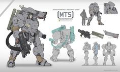 Game Character Design, Character Concept, Character Art, Robot Concept Art, Armor Concept, Gato Anime, Fighting Robots, Sci Fi Armor, Anime Weapons