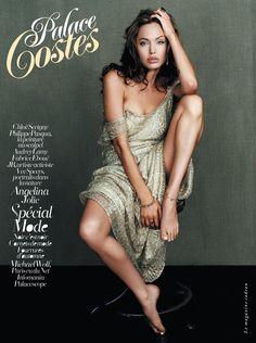 Palace Costes, numéro 32. Octobre/novembre 2010. Angelina Jolie.