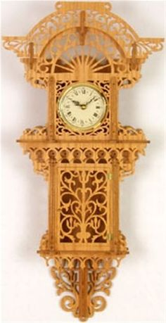 Victorian frames and pictures on pinterest - Wall hanging grandfather clock ...