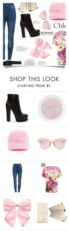 """""""Bez naslova #1669"""" by violet-peach ❤ liked on Polyvore featuring Forever 21, Karen Walker, Chloé and Pumpkin Patch"""
