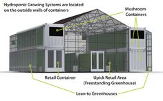 Vertical Farm and Retail Store Grows Mushrooms and Herbs : TreeHugger