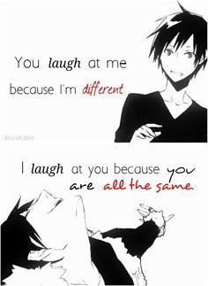 Durarara || Anime Quote
