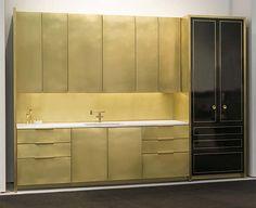 Brass Kitchen by Amuneal