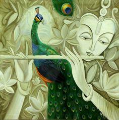 KRISHNA Handpainted Art Painting