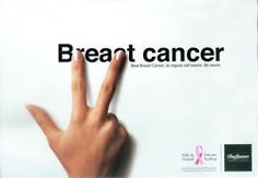 Breast cancer ad