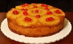 NuWave Pineapple Upside Down Cake
