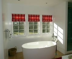 Roman shades are functional and gorgeous!