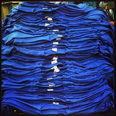 A few stacks to crush today #fashion #apparel #printing #screenprinting #superiorink