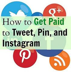 Do you have followers on Pinterest?? Do you want to make money with your followers on Pinterest?? You can make a lot of money $$$ by tweeting to your followers on Pinterest, Twitter, Instagram, Blogs, YouTube, FaceBook, Kik, and more by signing up through