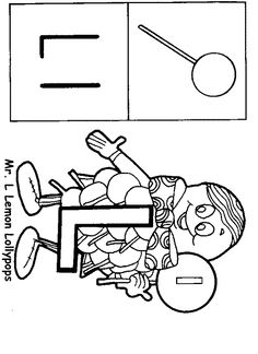 Miss alphabet coloring pages ~ letter people coloring pages - Google Search ...
