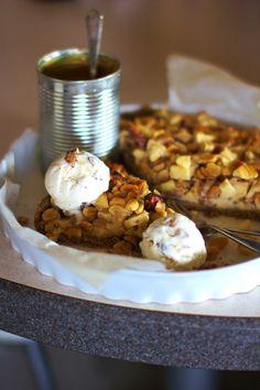 Tarta z Jabłkami, Orzechami i Karmelem Just My Delicious
