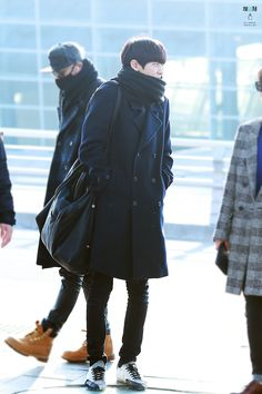 141212- EXO Park Chanyeol; Incheon Airport to Shenzen Airport #exok #style #fashion